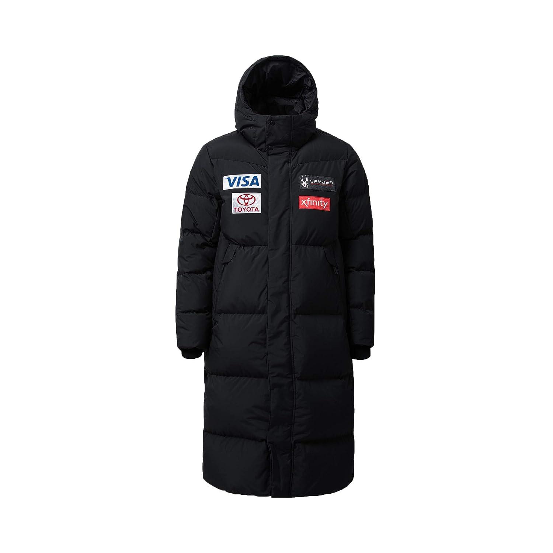 (スパイダー) Spyder Men`s Replica long down jacket メンズダウンジャケット (並行輸入品) ブラック M