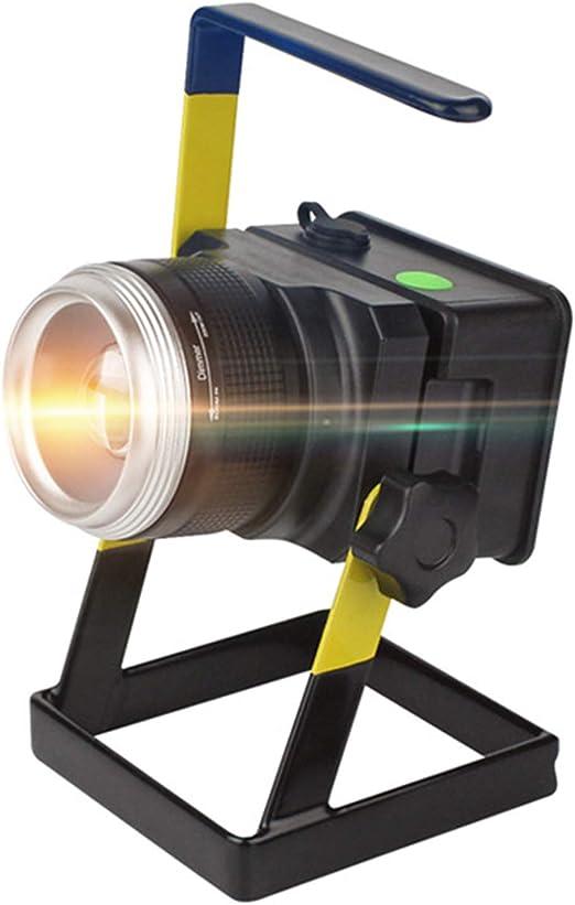 EFGS Foco Lámpara Proyector LED 10W, Luz Portátil para Trabajo de ...