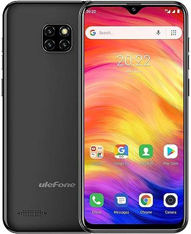 Ulefone Note 7, Android 8.1 Desbloqueado Smartphone Dual Sim Face Desbloqueo de 6.1