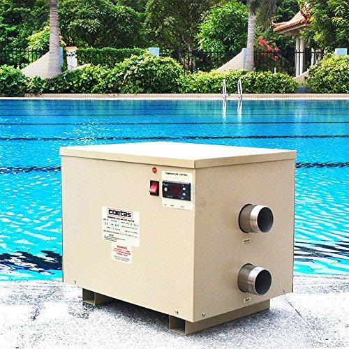 18kw 380V Piscina & Spa Hot Tub eléctrico calentador de agua Calentador Termostato Bomba de Baño