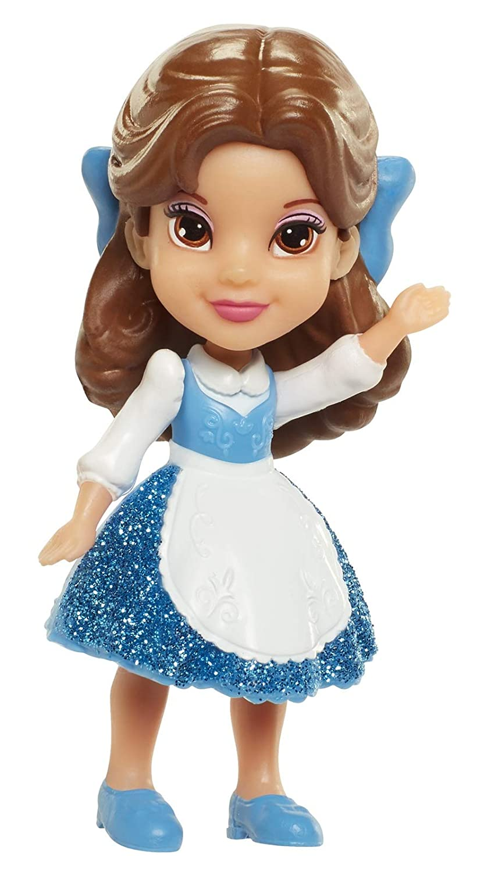 My First Disney Princess Mini Toddler Blue Dress Belle Poseable Doll