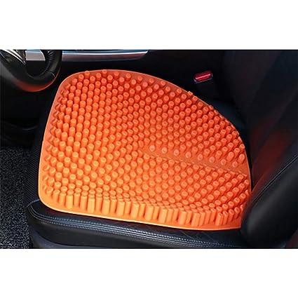 Cojín de silicona para el asiento del automóvil, cubierta ...