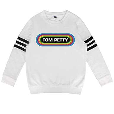 193f52df8 Amazon.com: Kids Tom-Petty-Rainbow-Around-Name-Logo- Slouchy Solid ...