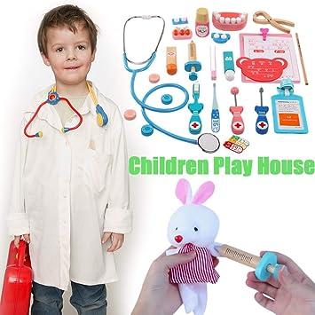 Amazon com: Wooden Children's Medical Equipment Play House