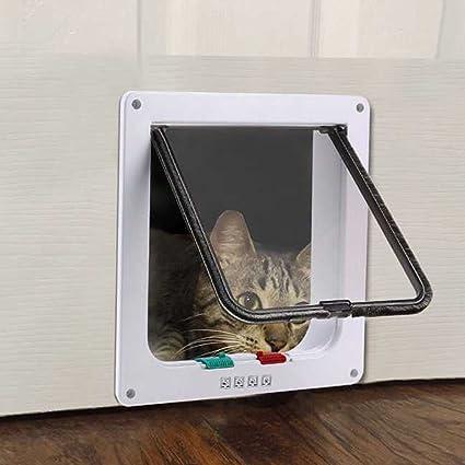Amazon Saiko 4 Way Lock Large Size Cat Door Cat Flap Door
