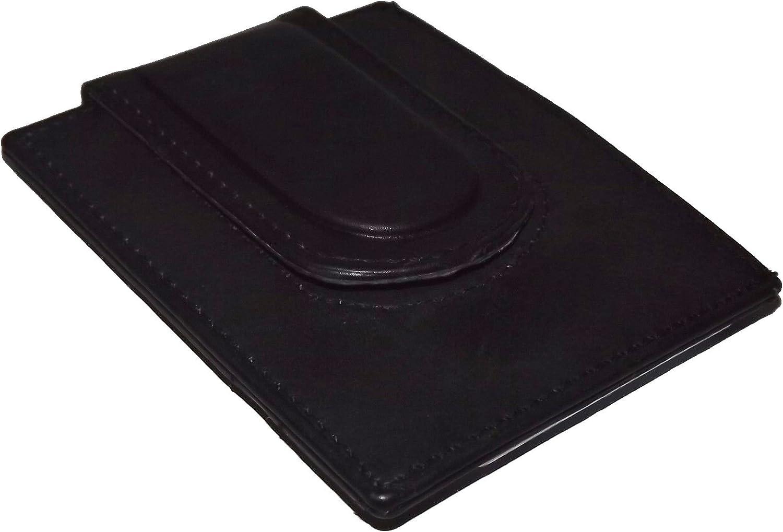 Custom 12 Gauge Shotgun Paul and Taylor Money Clip Wallet Black