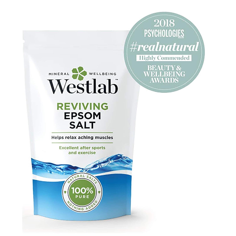 Westlab Epsom Salt - Sal de baño, 1Kg