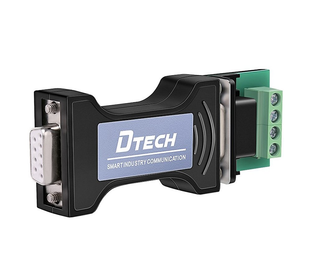 DTECH RS232 to RS485 Converter Adapter for Industrial Long Haul Serial Communication Supports 600W Anti-surge and 15KV Static Protection Guangzhou DTECH Electronics Technology Co. Ltd LYSB01CXY9S6M-ELECTRNCS