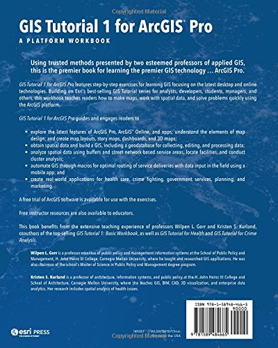 Gis tutorial 1 for arcgis pro a platform workbook gis tutorials gis tutorial 1 for arcgis pro a platform workbook gis tutorials wilpen l gorr kristen s kurland 9781589484665 amazon books sciox Gallery