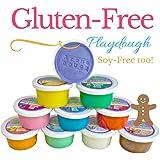 Aroma Dough Aromatherapy Dough, Soy-Free Gluten Free Play Dough For Kids, Eco Friendly Playdough Set (10 Pack) , All Natural Aromas!