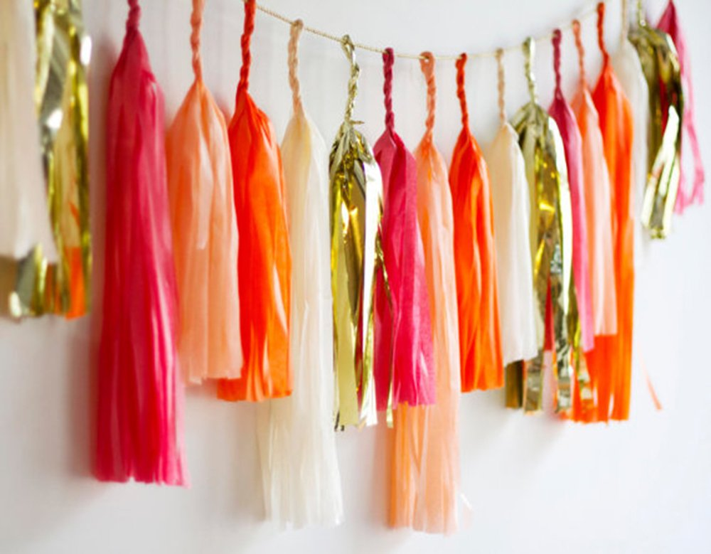 Madcaps Diy Tassel Garland Assorted