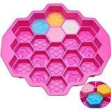 1 del 19 Cell honungskam bin tvål silikon form bivax is gelé choklad silikon kakform gör-det-själv fondant…