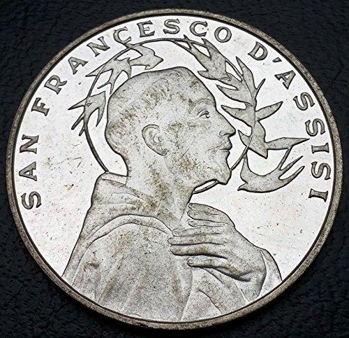 (San Francesco d'Assisi Italy Medal - Carpella Della Porziuncola - Combined S/H)