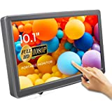 ELECROW 10.1 Inch Touchscreen Monitor 1920X1080p Raspberry Pi Screen IPS Monitor with HDMI VGA Display for Raspberry Pi Win P