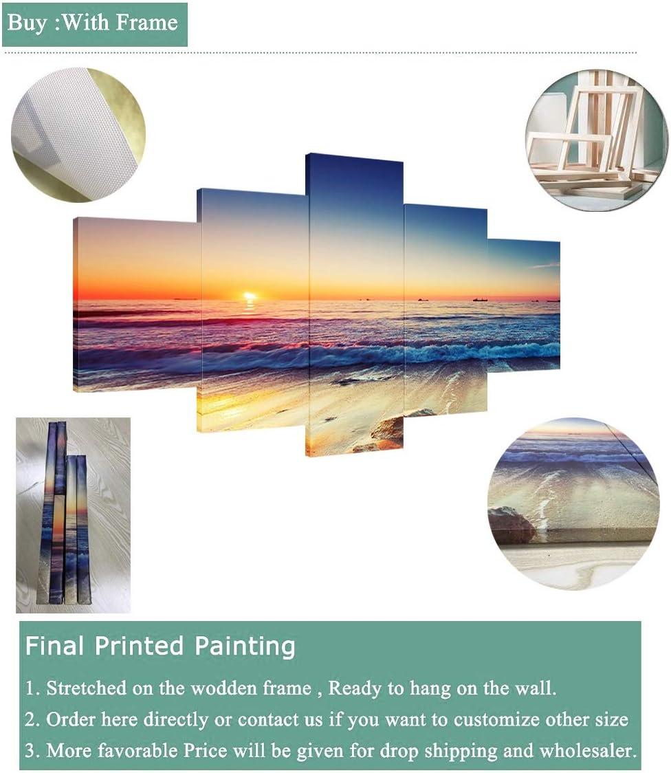 Inch Color : Frame, Size : Size 1 Papiers peints Barcelone Drapeau De Grandes Affiches Mur HD Football 5 Huile Peintures Pi/èces Sport Mur Art Prints Photos Gar/çons Chambre D/écor Cadre
