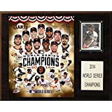MLB San Francisco Giants 2014 World Series Champions Plaque, 12 x 15-Inch