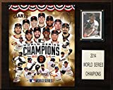 MLB San Francisco Giants 2014 World Series Champions Plaque, 12 x 15-Inch