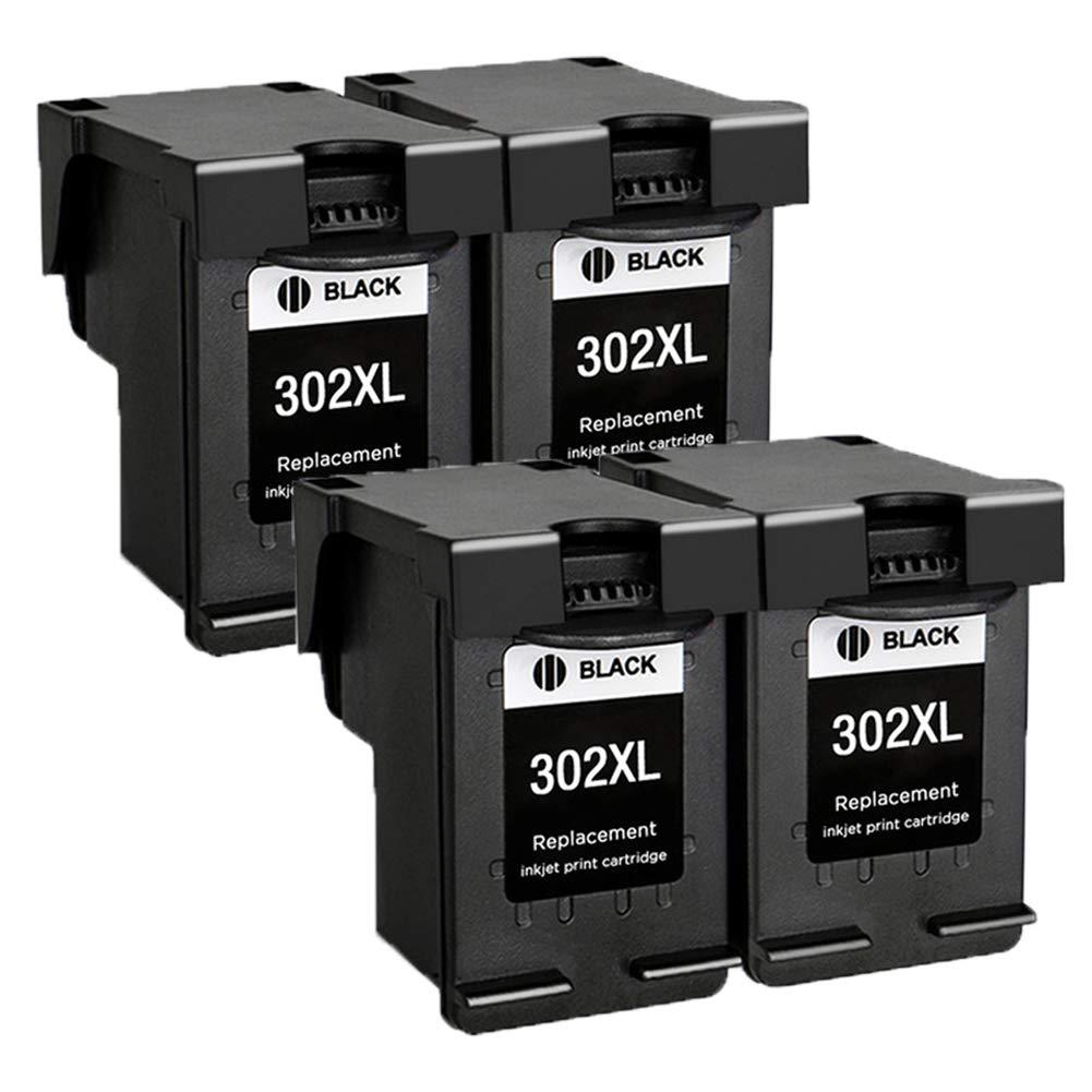 4 x Cartuchos de Tinta reciclados HP 302 XL Cartuchos de ...