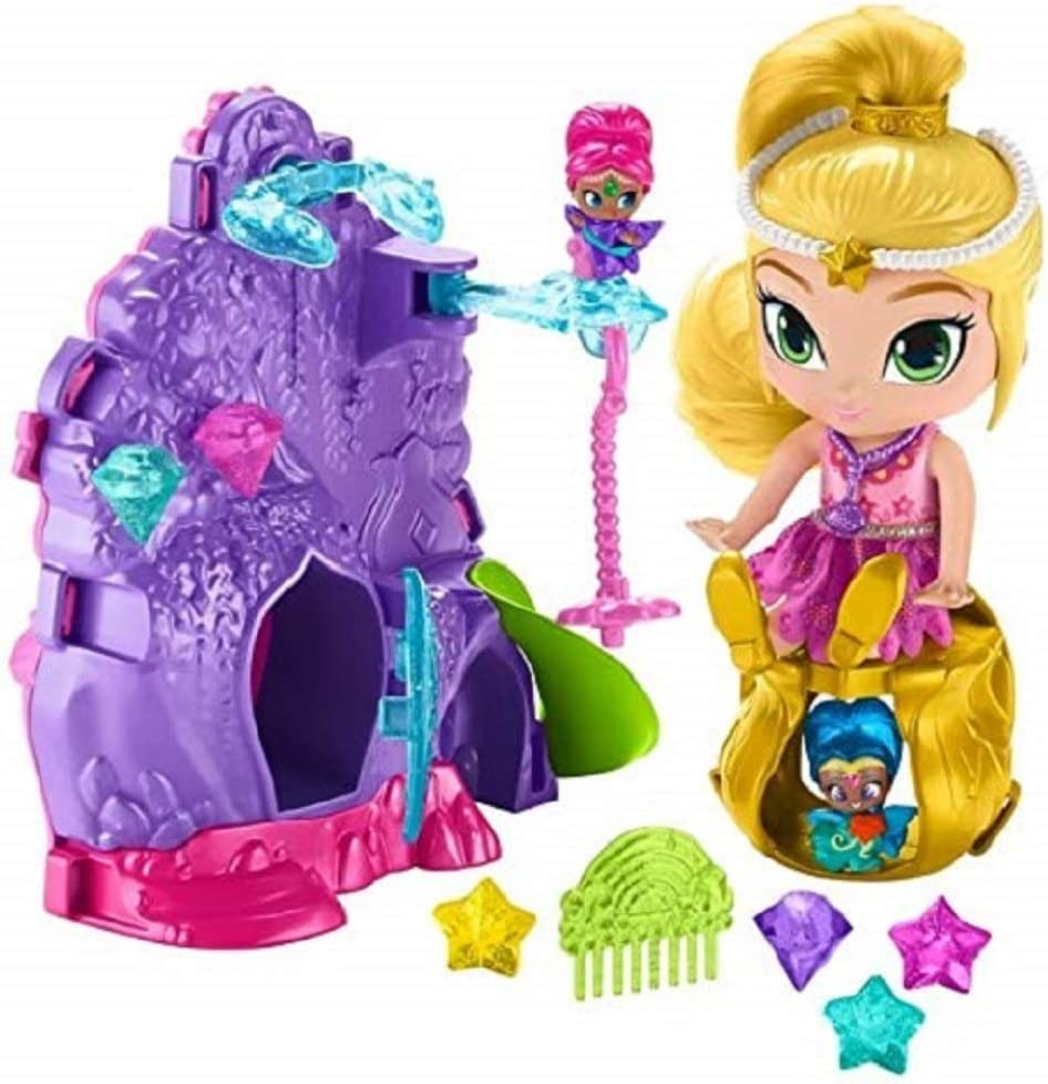 3 x SHIMMER AND SHINE TEENIE GENIES SURPRISE RING FIGURE TOYS DOLL