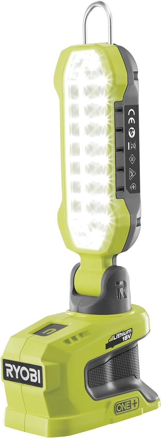 Ryobi 18 V ONE+ Luz LED inalámbrica (solo cuerpo): Amazon.es ...