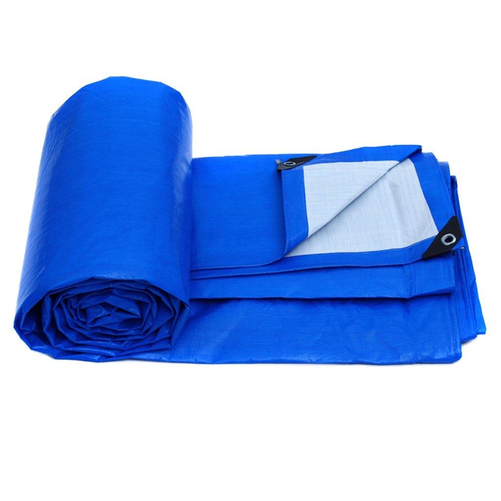 青の軽さ、防水屋根のカーブガーデン防雨カバー、床布、キャンプでの防風防潮 (サイズ さいず : 3MX2M/10FTX6FT) B07FPH8LF9 3MX2M/10FTX6FT  3MX2M/10FTX6FT