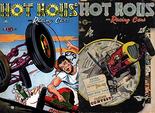 Hot Rods and Racing Cars Issues 10 & 11. (History of sports comics Book 2)