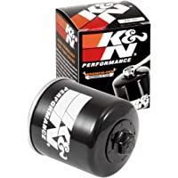 K&N Filtro de óleo para motocicleta: Alto desempenho, Premium, projetado para ser usado com óleos sintéticos ou…