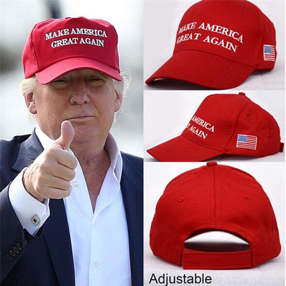 BASOYO MAGA Trump Cappello Regolabile Make America Great Again Cappello Cap repubblicano Mesh Baseball Cap Donald Trump Cap