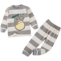 Styles I Love Unisex Baby Toddler 2-pc Striped Print Cotton Lounge Set