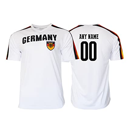 Pana Germany Soccer Jersey Flag German Youth Kids Training World Cup Custom  Name and Number ( 4832b4b91