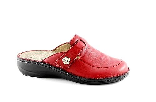 Grünland DARA CE0207 rubí zapatillas rojas mujer plantilla extraíble 38: Amazon.es: Zapatos y complementos