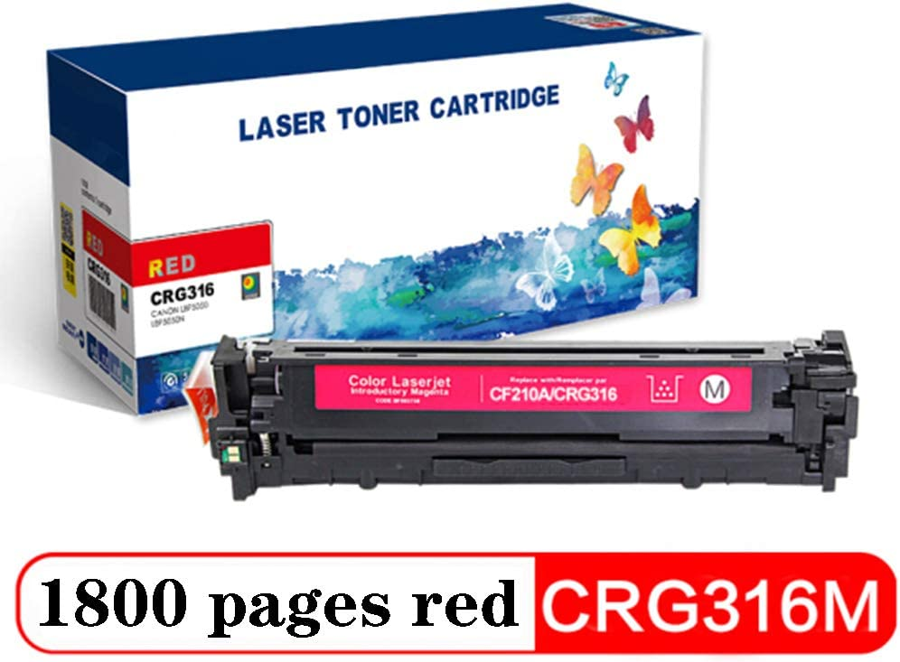 CP1215 M276nw for Canon LBP5050 CP1515n M251n Large Capacity Available in Four Colors-Fourcolor CP1518ni Compatible Cartridge Replacement for CRG-316 LBP5050N HP M276n