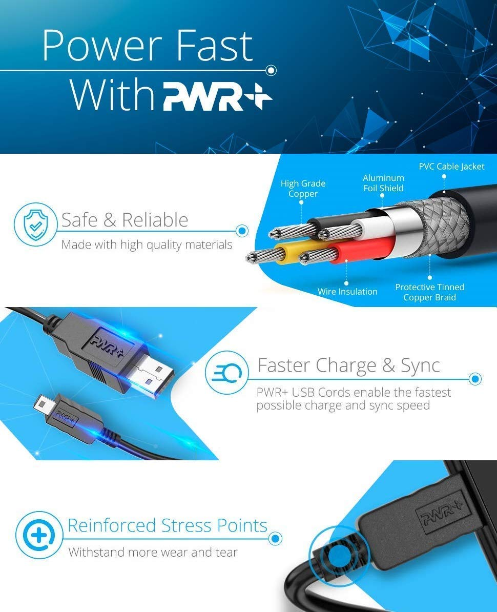 Extra Largo 3 Metros Cable-USB-Cargador para Sony-PS3-Mando ...