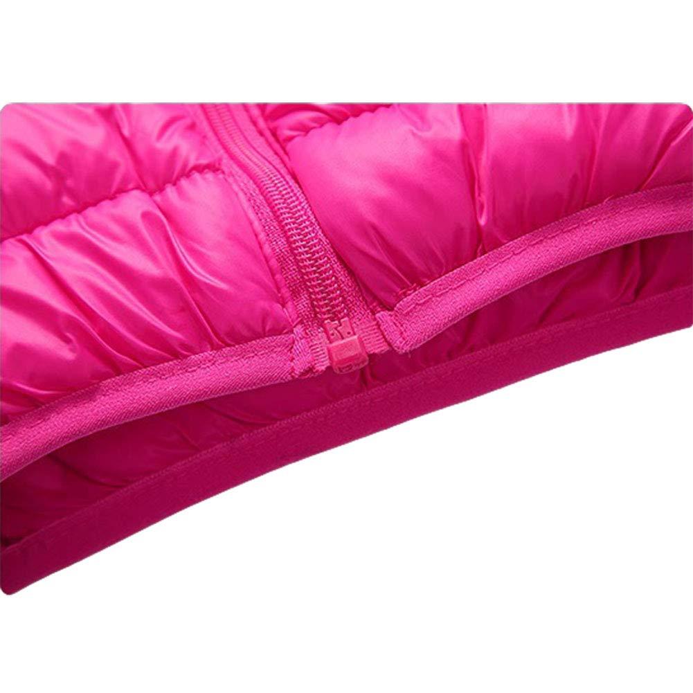 Digirlsor Kids Down Vest Boys Girls Lightweight Packable Hooded Sleeveless Puffer Vest Warm Jacket 3-9 Years