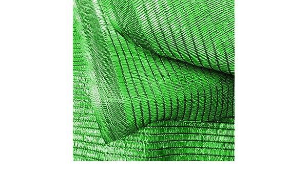 Medida 4 Alto X 100 Largo BONERVA Malla De Sombreo Ratcher Color Verde