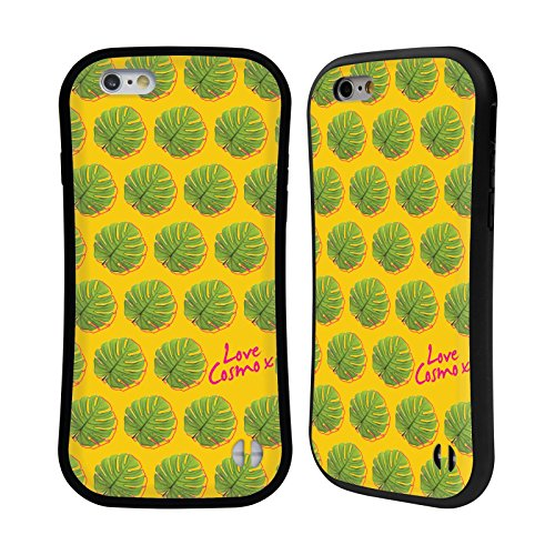 Official Cosmopolitan Split Leaf Pattern Tropical Hybrid Case for Apple iPhone 6 / 6s