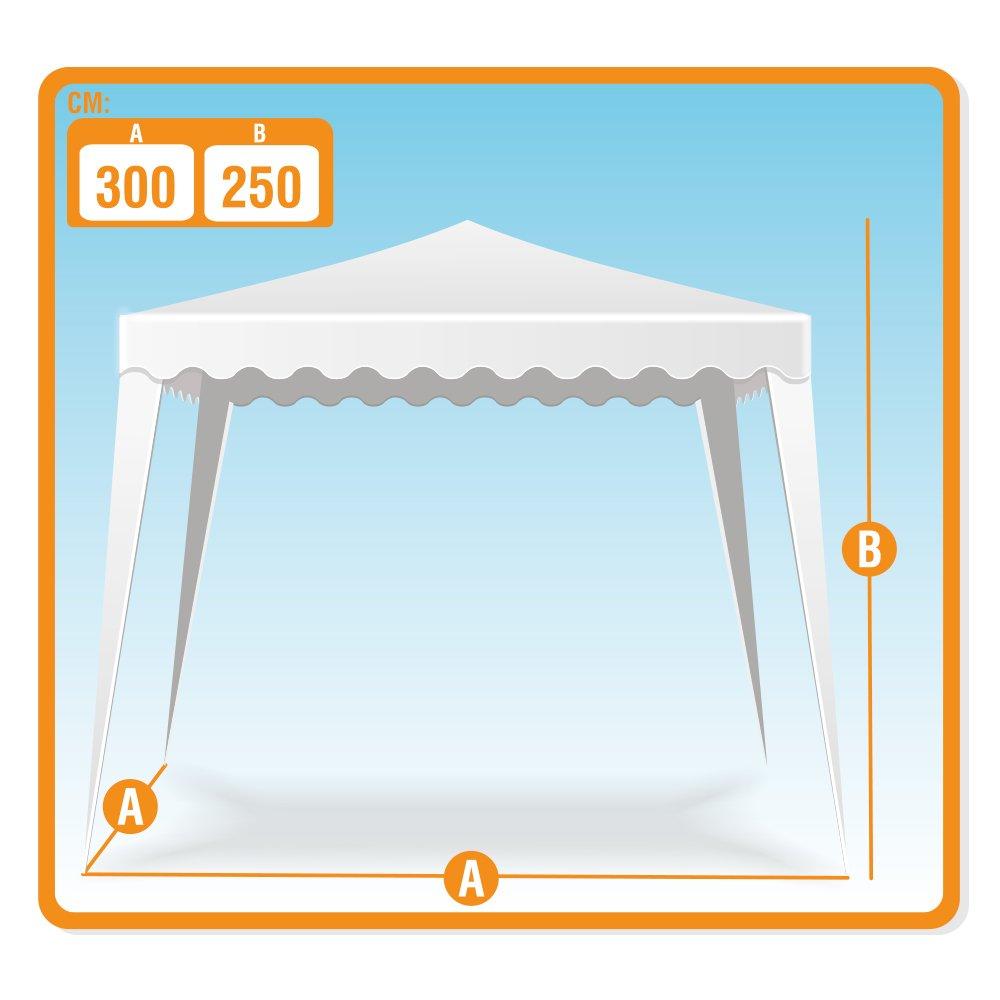 Polyester COLORBABY 53858 Gr/ün Aktive Pavillon 300/x 300/x 240/cm
