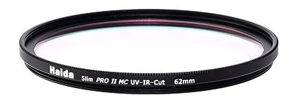 Amazon com : Haida 62mm Slim PROII MC UV IR Cut Filter HD2132-62