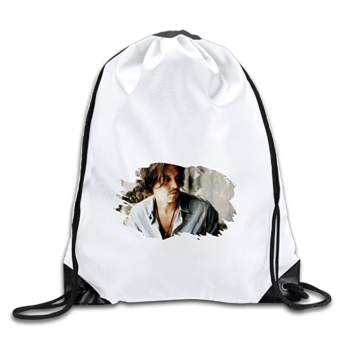 Show Time JD Poster Backpack Gymsack Drawstring Sack bag(Mochilas)