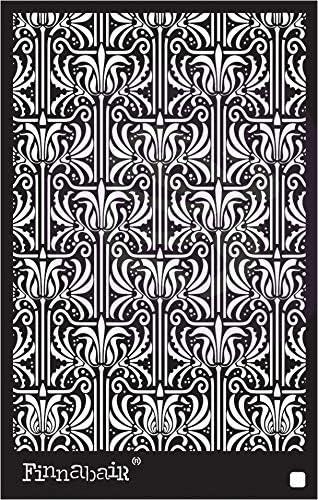 Prima Marketing PSTEN6X9-66645 Finnabair Stencil 6X9-Iris Tapestry