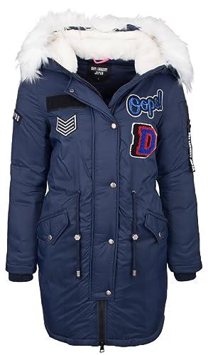 Dry Laundry – Parka 90500047 – Mujer – XL – Azul