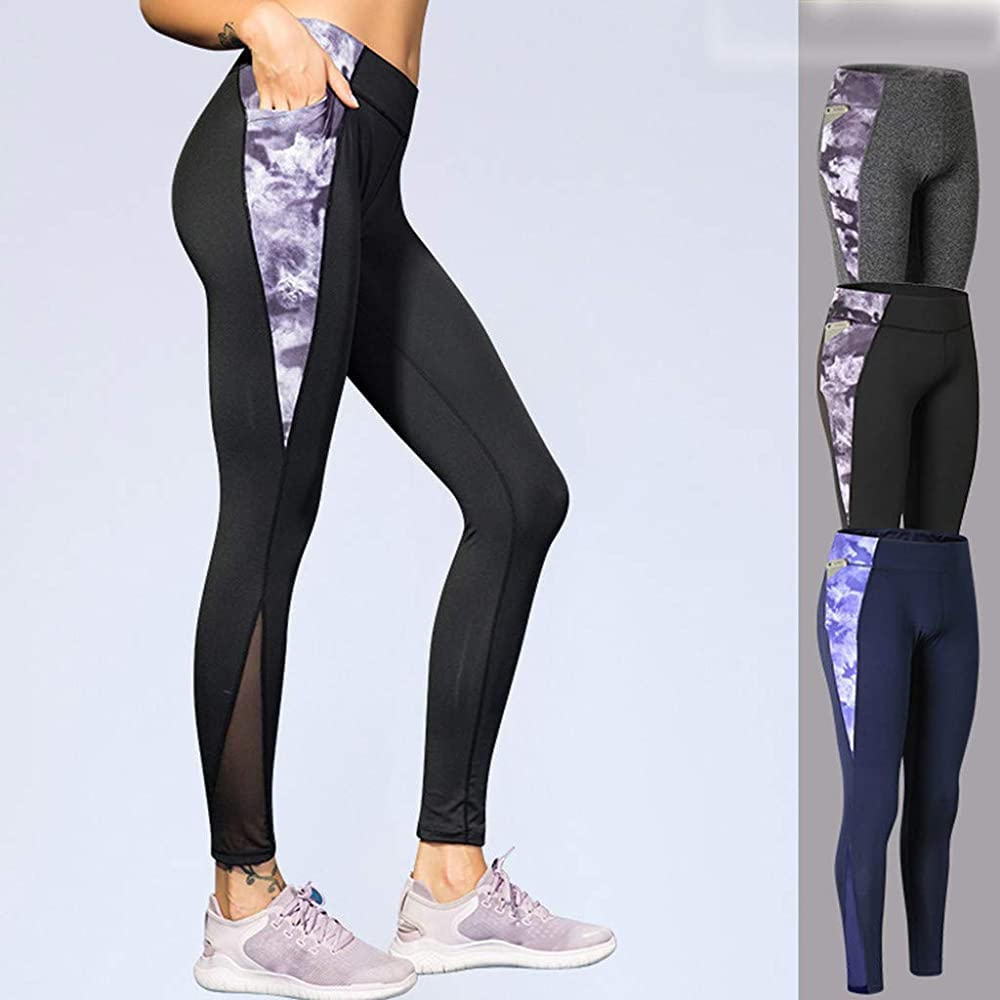 Vectry Pantalones Largos Mujer Pantalon Yoga Mujer Leggins ...