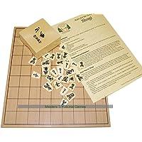 Masters Traditional Games Tablero de Madera de Shogi