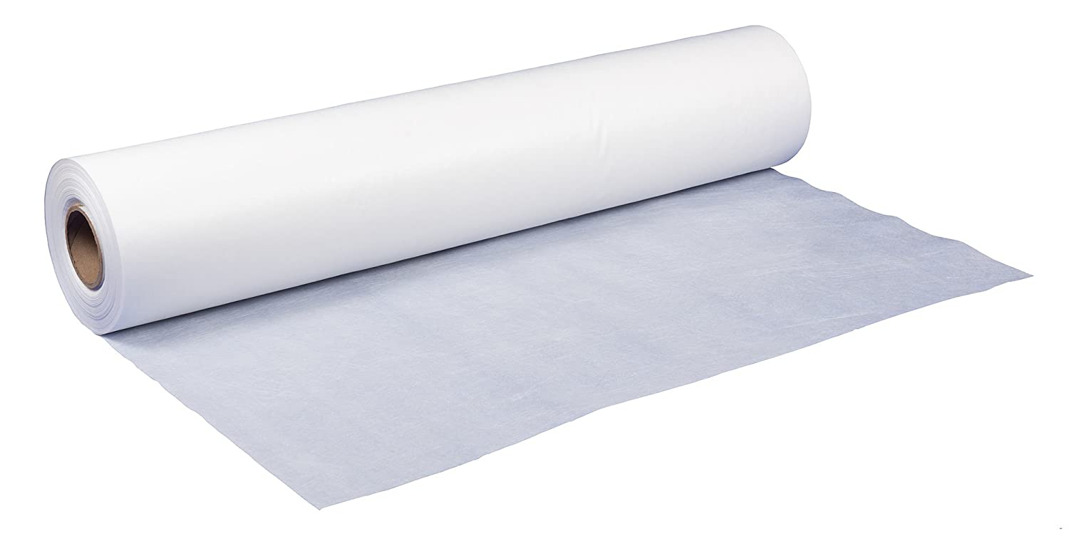 8480FRP Flame Retardant Surface Protection 1 Roll Chemco 300x84 80# White Flame Retardant Floor Paper Roll