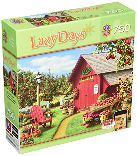 Master Pieces Puzzle Monarch Orchard Lazy Days Jigsaw Puzzle (750-Piece)