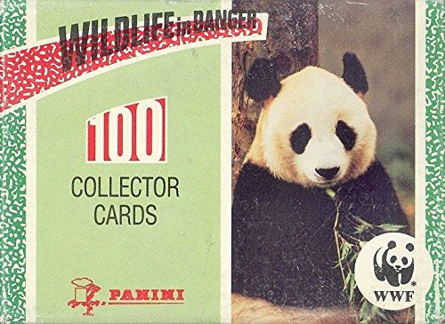 WILDLIFE IN DANGER 1992 PANINI COMPLETE FACTORY BASE CARD SET OF 100 ANIMALS