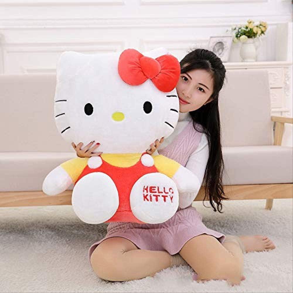KIFFAY Lindo Peluche Hello Kitty muñeca Hello Kitty muñeca Gato Regalo Juguete Gran Juguete Creativo 35cm Rosa
