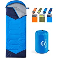 oaskys Camping Sleeping Bag - 3 Season Warm & Cool Weather - Summer, Spring, Fall,… photo
