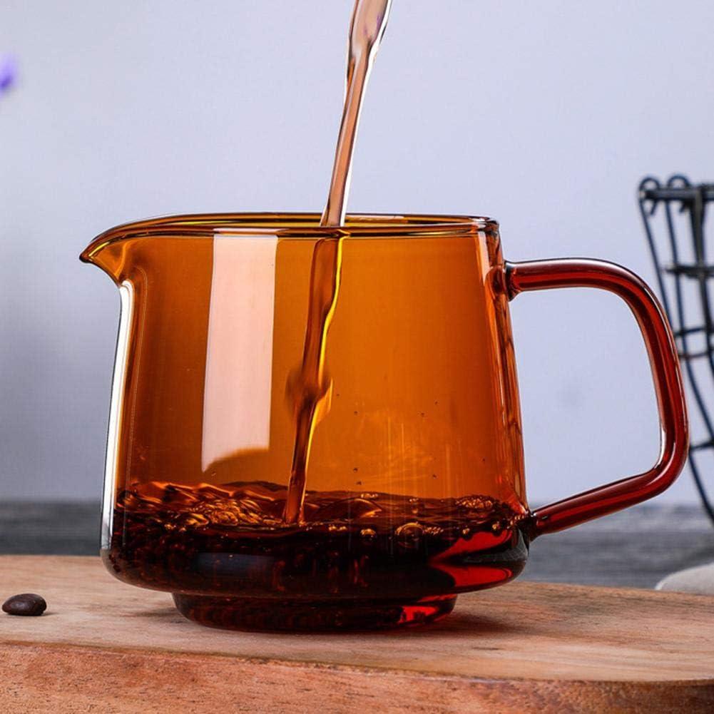 300 // 500ml giallo//blu vetro domestico che divide la pentola vetro di ricambio di base per caraffa per acqua Caraffa in vetro Pyrex caraffa di vetro trasparente