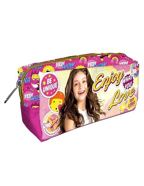 Soy Luna Disney - Bolsa de aseo Niñas rosa Talla única ...